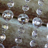 10pk Crystal Bead Garlands Combination Round 50cm