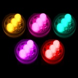 10pk Super Bright Submersible Floralyte LED Lights 3-Bulbs