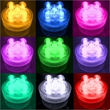 10pk Mega Bright Submersible Floralyte LED Lights 5-Bulbs