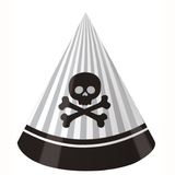 8pk Pirate Parrty! Birthday Party Hats