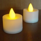 24pk Tealight Candles LED Battery Operated