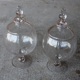 2pk Eden Apothecary Jars or Candy Jars