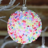12pk Christmas Decorations Hanging Tree Ornaments 100s & 1000s Sprinkles