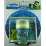 40 Pk Monsters University Party Pack