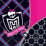 16pk Monster High Luncheon Napkins
