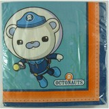 16pk Octonauts Party Napkins