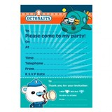 20pk Octonauts Party Invitations