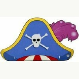 8pk Pirate Party Hats