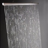 Extra Long Iridescent Bead Curtain