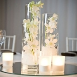 Cylinder Cluster with Mirror Base DIY Centrepiece Kit