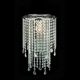 Crystal Beads and Baroque Pendants Chandelier Centrepiece Kit