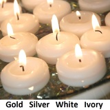 Floating Candles 24pk 50mm Dome Long Burning