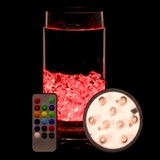 Remote Controlled RGB Colour-Changing LED Submersible Light Illuminator