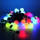 Festoon Party Lights Multi-Colour LED Mini Round Bulbs