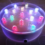 Colour-Changing Centrepiece Vase Light Base 15 LED