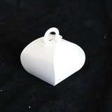 Gloss White Purse Favour Box