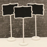 Bracket Chalk Board Table Place Stand