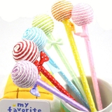 6pk Sweet Pop Ribbon Ballpoint Pens
