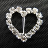 Mini Heart Diamante Slider
