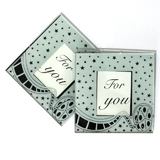 2pk Hollywood Glass Coasters