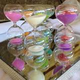 Coloured Sand Timer Wedding Favours