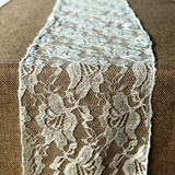 Floral Lace Sash / Table Runner
