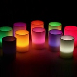 LED Tealight Candle in Votive Cup