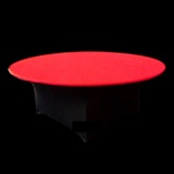 Red Lycra Table Cover Topper Premium
