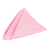 Light Pink Fabric Table Napkin