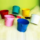 12cm Mini Tin Bucket Wedding Party Favour Pail