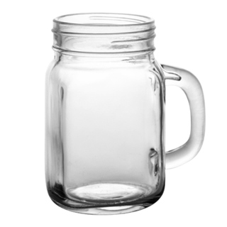 Mason Jars Glass Ball Mug with Handle 470mL (16oz)