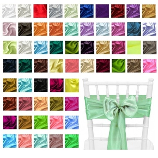 10pk Satin Chair Sashes