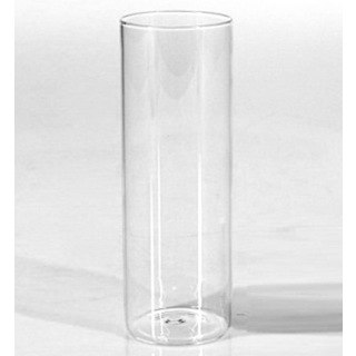 12pk 5cm x 15cm Mini Cylinder Glass Vases
