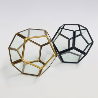 Glass Terrariums - Geometric Globe