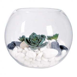 Sphere Fish Bowl Vases