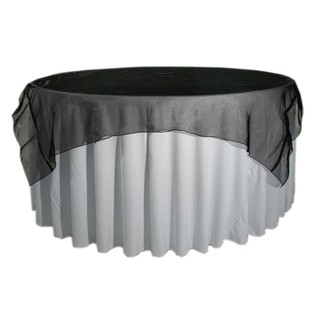 Organza Fabric Table Overlay 210cm Square